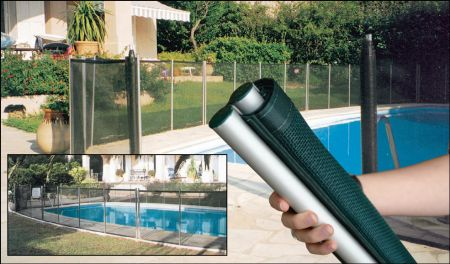 Plastica Swimming Pool & Pond Rollaway Fencing