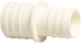 PVC 32-38mm AGP Straight Connector